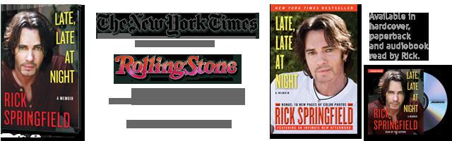 Rick Springfield - Late, Late At Night